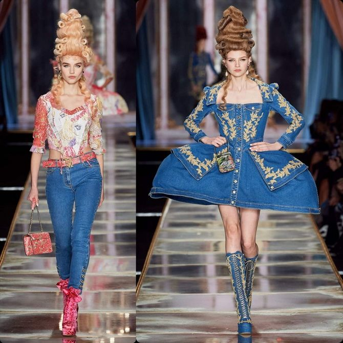 Moschino Milan fashion week 2020-2021