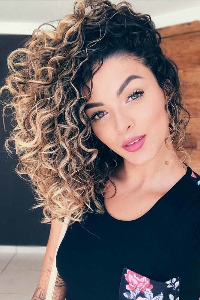 Lovely Curls Ombre #curlyhair #curlyhairstyles