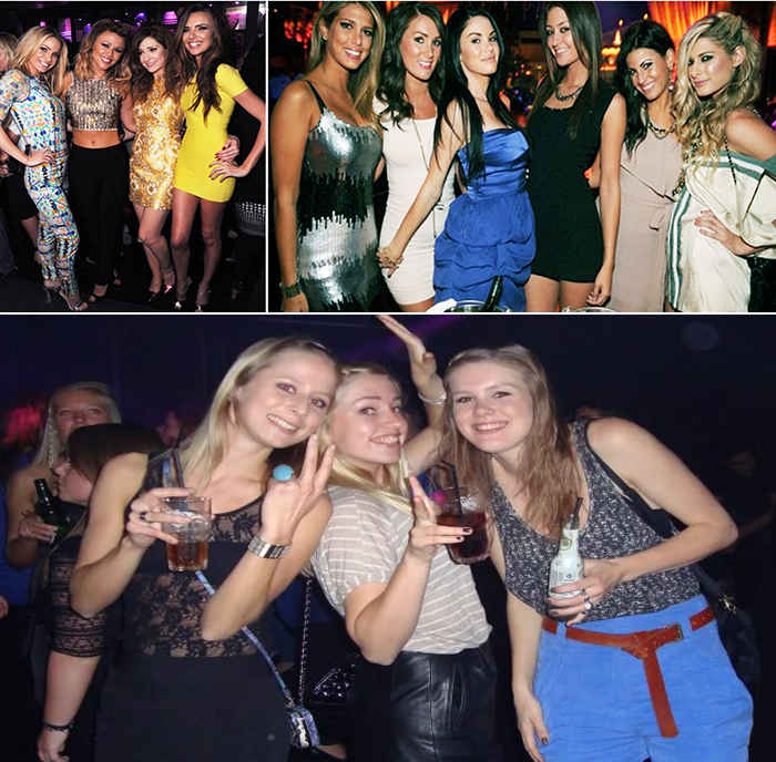В чем ходят в ночной клуб женщины цены в ночных клубы саратова